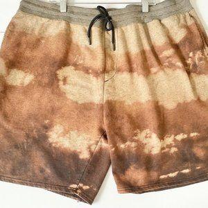 No Boundaries Men XL 40-42 Brown Sweat Shorts